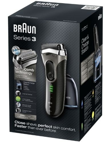Braun Series 3 3090 CC black