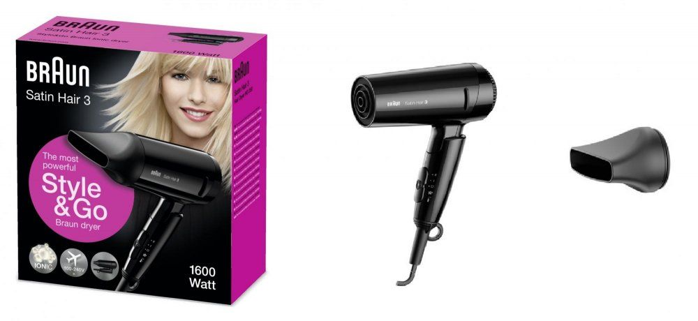 Braun Satin Hair 3 HD 350 To Go