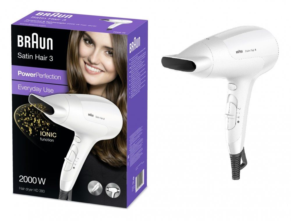 Braun Satin Hair 3 HD 380