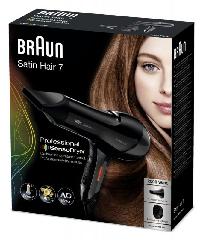 Braun Satin Hair 7 HD 785 Sensor