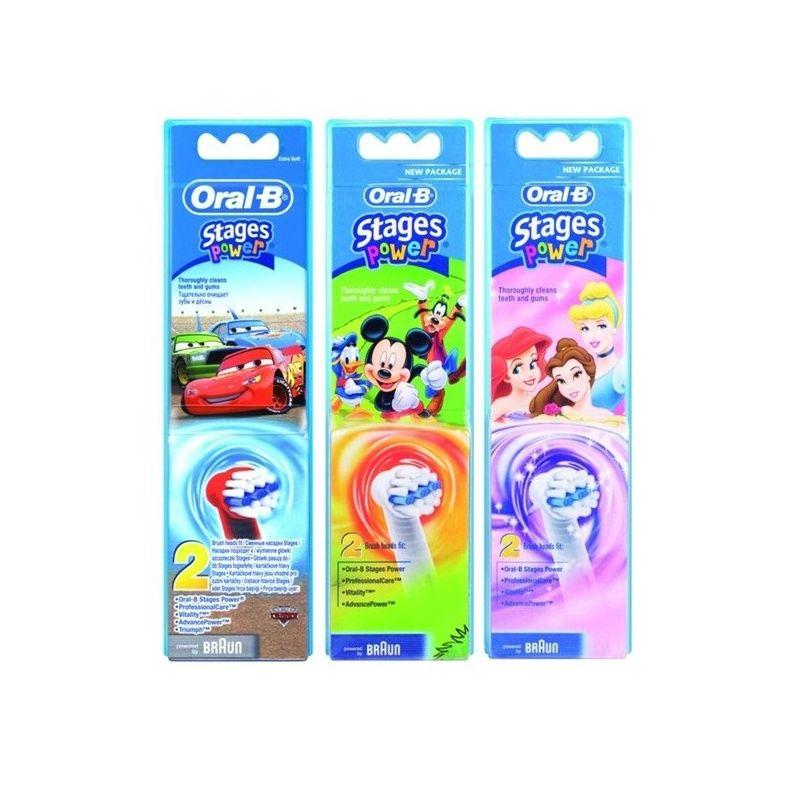 Náhradní kartáčky Oral-B EB 10 - 2 Kids (2 kusy v balení)