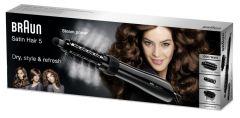 Teplovzdušný kartáč s napařováním Satin Hair 5 AS 530