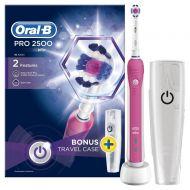 Zubní kartáček Oral-B Pro 2500 3Dwhite pink