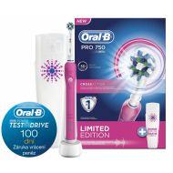 Zubní kartáček Oral-B Pro 750 D16 + pouzdro
