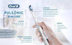 Sonický zubní kartáček Oral-B Pulsonic Slim Luxe 4100 Platinum z výstavy