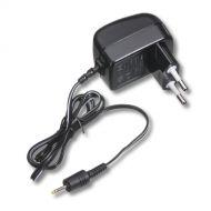 Napájecí konektor s kabelem, černý type 5516
